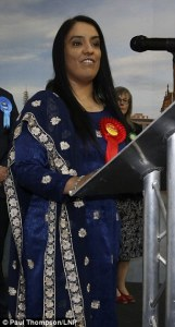 Naz Shah Bradford is now a Muslim City